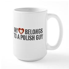 My Heart belongs to a Polish Guy Mug