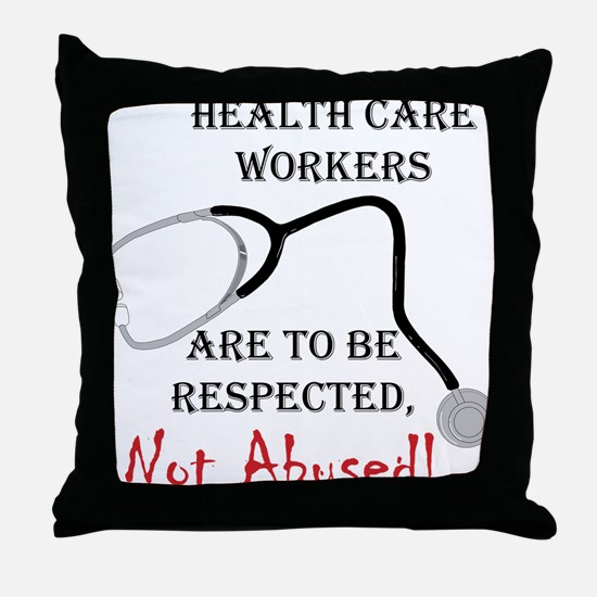 Health Care Workers Throw Pillow