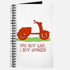 You Buy Gas, I Buy Goodies Journal