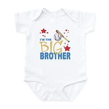 I'm the big brother Baseball Baby Infant Bodysuit