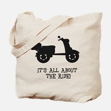 It's All About The Ride Tote Bag