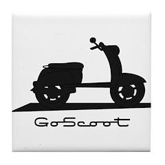 Go Scoot Tile Coaster