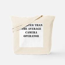 Average camera operator Tote Bag