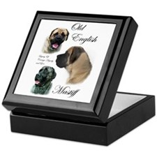 Old English Mastiff Keepsake Box