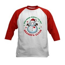 Snowman Grandpa Claus Tee