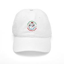 Snowman Grandpa Claus Baseball Cap