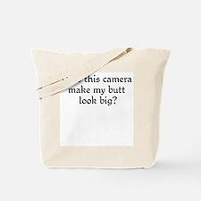 Does this camera... Tote Bag