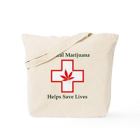 Helps Save Lives Tote Bag