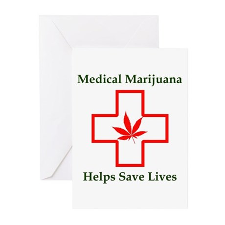 Helps Save Lives Greeting Cards (Pk of 10)