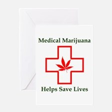 Helps Save Lives Greeting Card