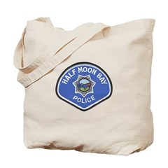 Half Moon Bay Police Tote Bag
