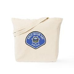 Half Moon Bay Police Tote Bag