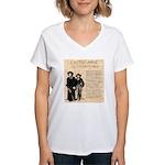 Annie & Jennie Women's V-Neck T-Shirt