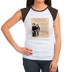 Annie & Jennie Women's Cap Sleeve T-Shirt