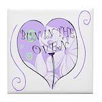 Bun In The Oven Tile Coaster
