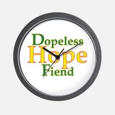 Dopeless Hope Fiend Wall Clock
