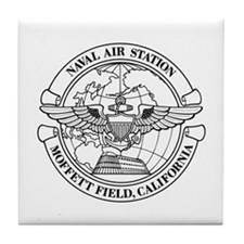 Moffett Field Naval Air Station Tile Coaster