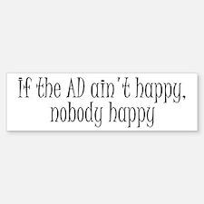 AD happy Bumper Bumper Bumper Sticker