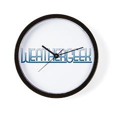 WeatherGeek Wall Clock