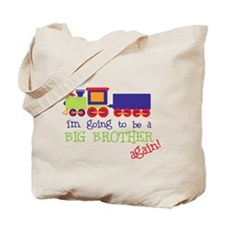 going to be a big brother train Tote Bag