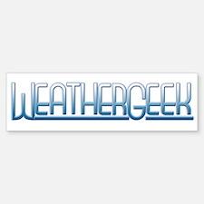 WeatherGeek Bumper Bumper Bumper Sticker