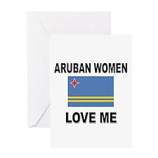 Aruban Women Love Me Greeting Card