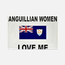 Anguillian Women Love Me Rectangle Magnet
