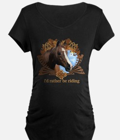 I'd Rather Be Riding T-Shirt