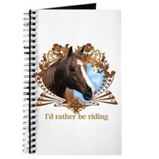 I'd Rather Be Riding Journal