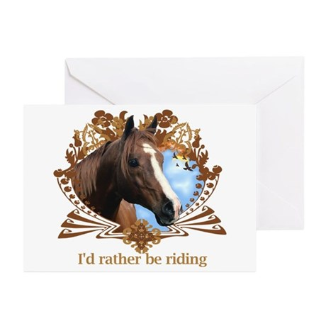 I'd Rather Be Riding Greeting Cards (Pk of 10)
