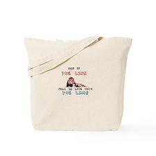 Lion and Lamb Tote Bag