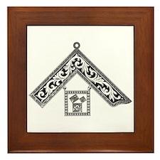 Masonic PM Medal Framed Tile