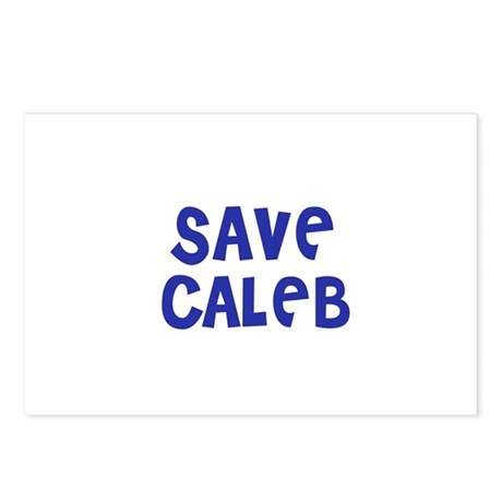 Save Caleb Postcards (Package of 8)