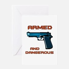 ARMED Greeting Card