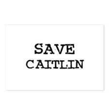 Save Caitlin Postcards (Package of 8)