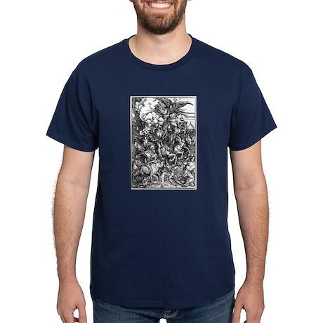 Durer Four Horsemen Dark T-Shirt