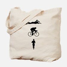 Triatheletes Triathlon Tote Bag