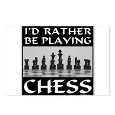 CHESS PLAYER Postcards (Package of 8)
