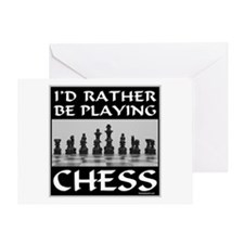 CHESS PLAYER Greeting Card