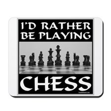 CHESS PLAYER Mousepad