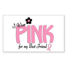 I Wear Pink For My Best Friend 14 Decal