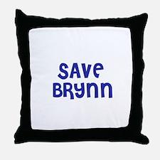 Save Brynn Throw Pillow
