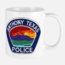 Anthony Police Mug