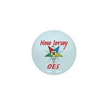 New Jersey Eastern Star Mini Button (100 pack)