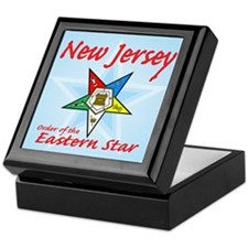 New Jersey Eastern Star Keepsake Box