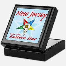 New Jersey Eastern Star Keepsake Box