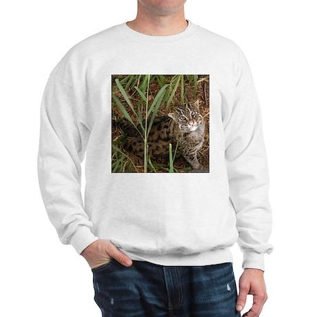 Fishing Cat Sweatshirt