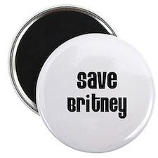 Save Britney Magnet