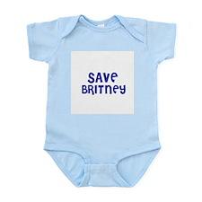 Save Britney Infant Creeper
