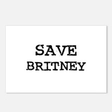 Save Britney Postcards (Package of 8)